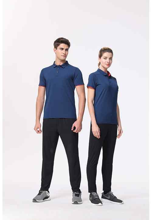 碳离子双袖摆速干衣Polo衫